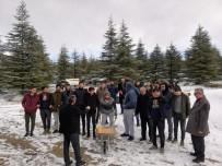 Öğrencileri Yaban Hayvanları Ve Kuşlar İçin Doğaya Yem Bıraktı