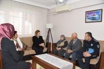 ŞEHİT POLİS - Vali Deniz'in Eşi Olcay Deniz'den Şehit Polis Ailelerine Ziyaret