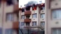 Yalova'da Apartmanda Yangın