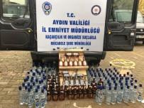 VOTKA - Aydın'da 149 Şişe Kaçak İçki Ele Geçirildi