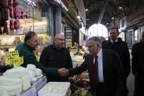 KAPALI ÇARŞI - Başkan Büyükkılıç, 'Esnaf  Ve Ticaretin Merkezi Kayseri' Dedi