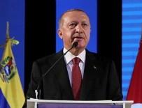 BÜROKRATİK OLİGARŞİ - Başkan Erdoğan Venezuela'da açıklamalarda bulundu