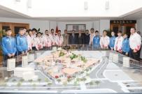 OLİMPİYAT ŞAMPİYONU - Başkan Tiryaki, İşitme Engelli Sporcuları Ağırladı