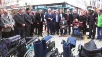 YALÇıN YıLMAZ - Camilerden Toplanan Parayla Tekerlekli Sandalye Alındı