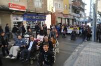 CİZRE BELEDİYESİ - Cizre'de Dünya Engelliler Günü'nde Farkındalık Yürüyüşü