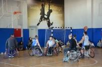 BASKETBOL MAÇI - Engelliler Günü'ne Basketbol Maçı İle Dikkat Çektiler