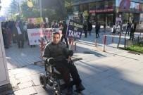 ENGELLİ ÖĞRENCİ - Engellilerden Farkındalık Yürüyüşü