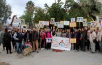 FETHIYE BELEDIYESI - Fethiye'de İki Köpeğin Zehirlenerek Öldürülmesi Protesto Edildi