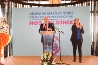 AVRUPA ŞAMPİYONU - İstanbul Büyükşehir Belediye Başkanı Mevlüt Uysal Engelliler İle Bir Araya Geldi