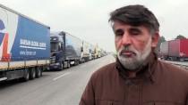HAMZABEYLI - Kapıkule'de Kuyruk Hafta Başına Sarktı