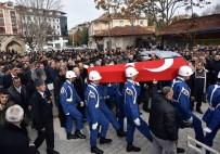 GAZİLER DERNEĞİ - Kıbrıs Gazi Son Yolculuğu Uğurlandı