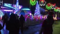 NEW JERSEY - Noel Işıkları ABD'li Çifte Her Gece 3 Bin Dolar Ceza Kestiriyor