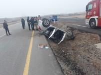 Otomobil Takla Attı Açıklaması 3 Yaralı