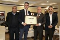 ORHAN YıLMAZ - Türkiye Gazetesi'nden Başkan Sekmen'e Teşekkür Ziyareti