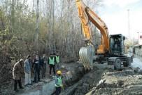 VEYSEL KARANI - VASKİ, Sağlıklı Su İçin 11 Kilometre Yeni İsale Hattı Çekiliyor