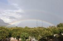 20 DAKİKA - Yağmurun Ardından Beliren Gökkuşağı Hayran Bıraktı