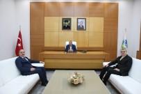 FEVZI KıLıÇ - Yüce'den, Başkan Toçoğlu'na Ziyaret