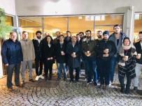 BÜLENT ECEVİT ÜNİVERSİTESİ - Çufalı, Öğrencilerle Kütüphanede Bir Araya Geldi