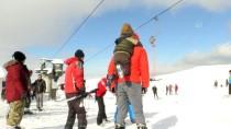 Hazarbaba'da Kayak Sezonu Açıldı