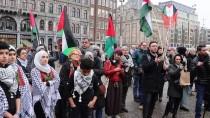 KIRMIZI GÜL - Hollanda'da Filistinlilerin 'Dönüş Anahtarı' Anıtı Sergilendi