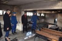 Kırıkkale'de Geri Gönderme Merkezinde Yangın