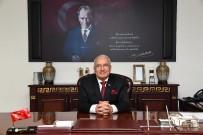 BURHANETTIN KOCAMAZ - Mersin'de Belediye Başkanları Ve STK Temsilcileri Yeni Yılı Kutladı