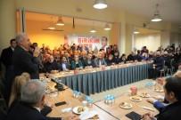 MEVLÜT UYSAL - Mevlüt Uysal, Büyükçekmece İlçe Teşkilatı Ve Vatandaşlarla Bir Araya Geldi