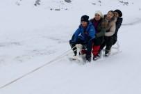 (Özel) Hasan Dağı'nda Kayak Ve Mangal Keyfi