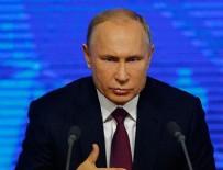 SURIYE DEVLET BAŞKANı - Putin'den Türkiye'ye yeni yıl mesajı