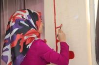 SIIRT BELEDIYESI - Siirt Belediyesi Kurs Öğrencilerinden Boyama Çalışması
