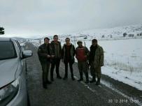 Afyonkarahisar'da Av Koruma Ekipleri Kar Kış Demeden Denetimlere Devam Ediyor