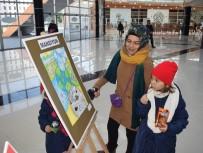 TÜRKÇE ÖĞRETMENI - Çocuklar Resimle, Gençler Kompozisyonla Kente Saygıyı Anlattılar