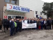 Edirne'de Hemşire Ve Güvenlik Görevlisine Şiddet
