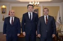 EMNİYET TEŞKİLATI - Emniyet Genel Müdürü Uzunkaya'dan Vali Memiş'e Ziyaret