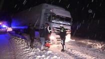 Erzincan'da Kar Ve Buzlanma Ulaşımı Olumsuz Etkiledi