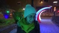 Erzincanlıları Kar Sokağa Döktü