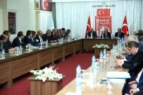 İl Ekonomi Değerlendirme Toplantısı Vali Pehlivan Başkanlığında Gerçekleştirildi