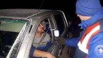 Jandarma Ve Emniyet Ekipleri Yılbaşı Gecesi Kuş Uçurtmadı