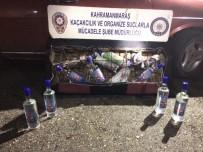 KAÇAK ŞARAP - Kahramanmaraş Ve Elbistan'da Kaçak İçki Operasyonu