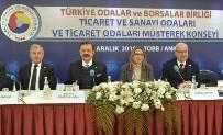 KATSO Başkanı Oğuz Fındıkoğlu, Kastamonu İş Dünyasının Sorunlarını TOBB Toplantısında Dile Getirdi