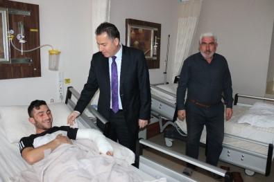 Kaymakam Kapankaya Hastaların Yeni Yılını Kutladı