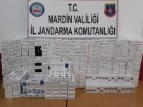 Mardin'de 4 Bin 70 Paket Sigara Ele Geçirildi