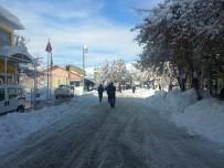 Tunceli'de Kar Yağışı Etkisini Sürdürüyor