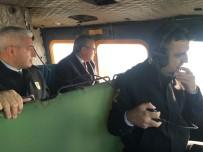 TRAFİK KURALLARI - Vali Deniz Helikopterli Trafik Denetimine Katıldı