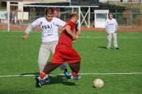 ŞAMPİYONLUK KUPASI - Ağrı'da '3 Aralık Dünya Engelliler Günü'nde Engelliler Maç Yaptı