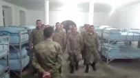 PIYADE - Askerlerden Fatih Bucak'a Marşlı Gönderme