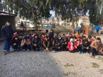 KAÇAK GEÇİŞ - Ayvalık'ta 50 Kaçak Göçmen Yakalandı