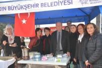 MESUT ÖZAKCAN - Başkan Özakcan'dan Kadınlara Destek
