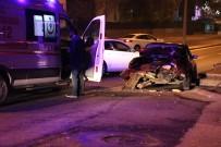 METRO İSTASYONU - Başkent'te Trafik Kazası Açıklaması 2 Yaralı
