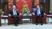 SEMİHA YILDIRIM - Binali Yıldırım Çin Başbakanı Kıçiang'ı Kabul Etti